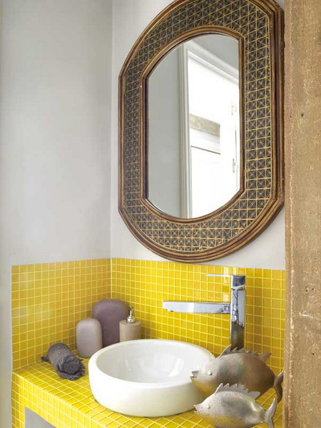 Small wall mount bathroom sink