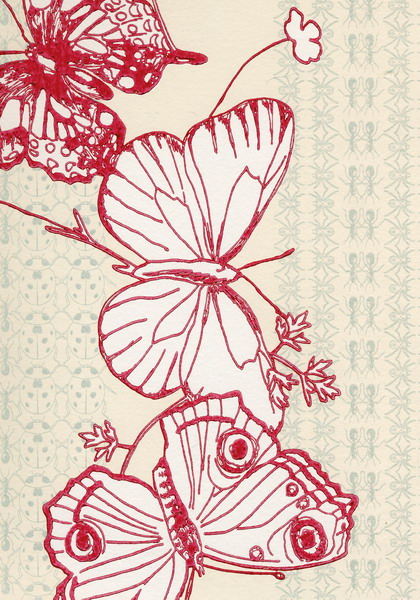 madame butterfly  peony fabric  Designers Guild  Living