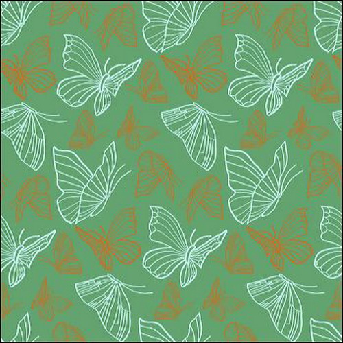 Butterfly Garden Duck Egg Wallpaper  Laura Ashley