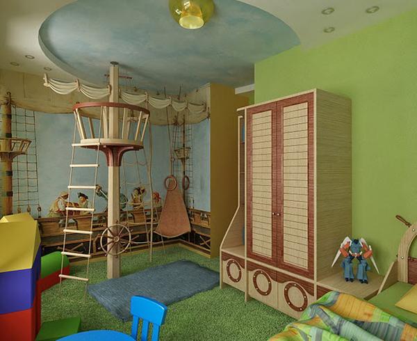 дизайнерские варианты комнат фото
