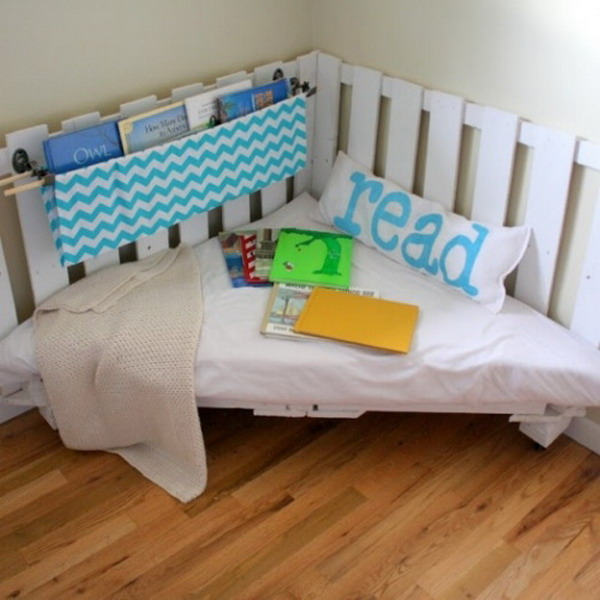 How To Build a Kids Reading Nook W No Sew Cushions
